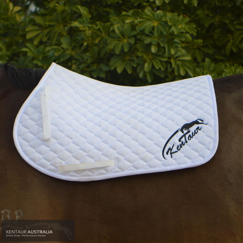 Kentaur Saddle Pad White / Jumping Full Cloth