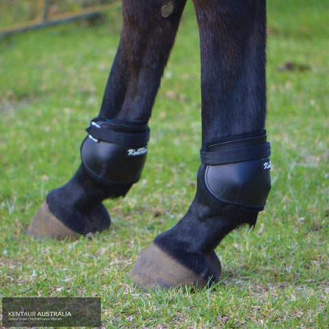 Kentaur Short Leather Hind Pinch Boots Training Jumping
