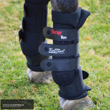 Load image into Gallery viewer, Kentaur Therapy Wave Magnetic Front Thermo-Bandages Stable Boots