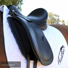Load image into Gallery viewer, Kentaur Young Dressage DC Saddle Black Dressage Saddles