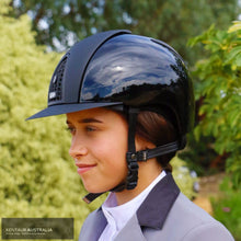 Load image into Gallery viewer, Kep Cromo Polish With Textile Grid Inserts And Visor Helmet Kep Helmets