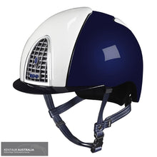 Load image into Gallery viewer, Kep Cromo Shine Xc Helmet Navy/white / Small (51-58) Kep Helmets