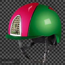 Load image into Gallery viewer, Kep Cromo Shine Xc Helmet Pink/green / Small (51-58) Kep Helmets