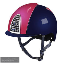 Load image into Gallery viewer, Kep Cromo Shine Xc Helmet Pink/navy / Small (51-58) Kep Helmets