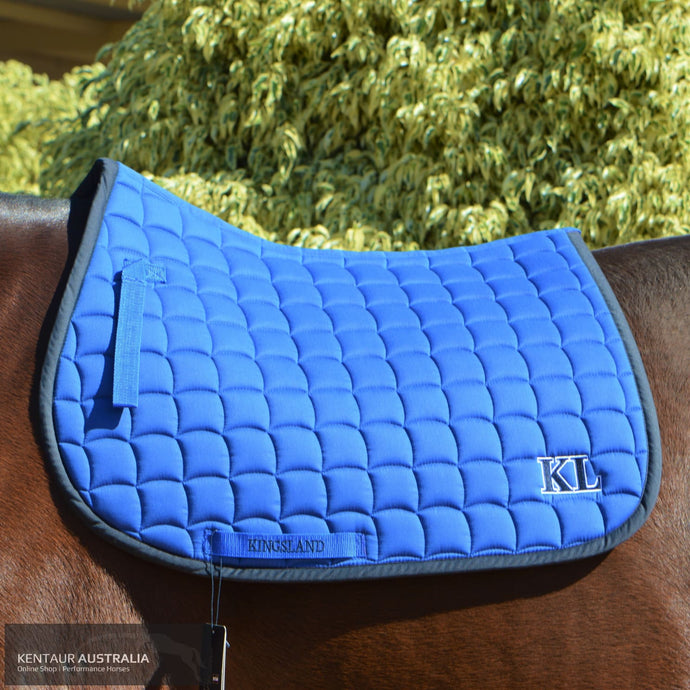 Kingsland Elfisio Saddle Pad Blue Surf The Web / General Purpose Cloth