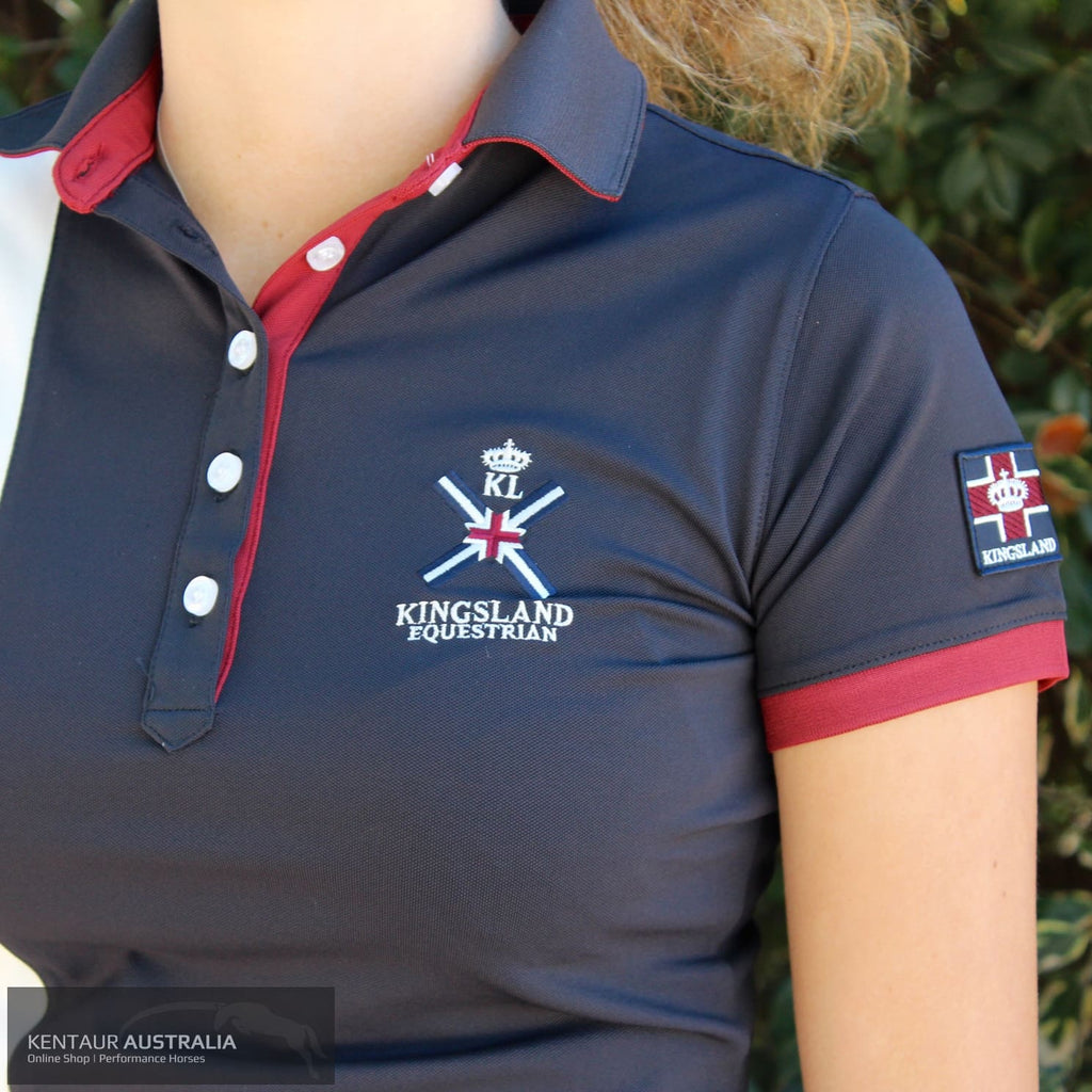 Kingsland Waverley Womens Polo Shirt Navy / Xs Polo Shirts & Jerseys