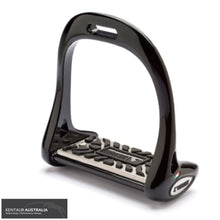 Load image into Gallery viewer, Lorenzini Titanium Dressage Stirrups Glossy Black / 5cm Saddle Accessories