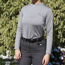 Load image into Gallery viewer, Montar April Crew Neck Training Shirt Light Grey / S Polo Shirts & Jerseys