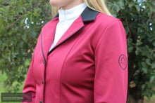 Load image into Gallery viewer, Montar Cherry Womens Competition Jacket Ruby Red / 40 (AU12) Show Jackets