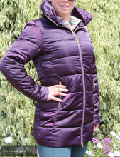 Load image into Gallery viewer, Montar Daisy Long Down Jacket Plum / 36 (Au8) Jumpers And Jackets