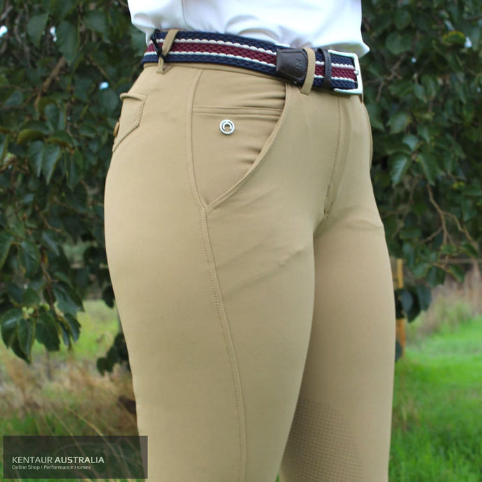 Montar Eliana Womens Casual Breeches Camel / AU 8 Casual Breeches