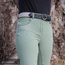 Load image into Gallery viewer, Montar 'Femke Crystal' Womens Casual Breeches Soft Green / AU 8 Casual Breeches