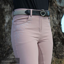 Load image into Gallery viewer, Montar 'Femke Crystal' Womens Casual Breeches Soft Pink / AU 8 Casual Breeches
