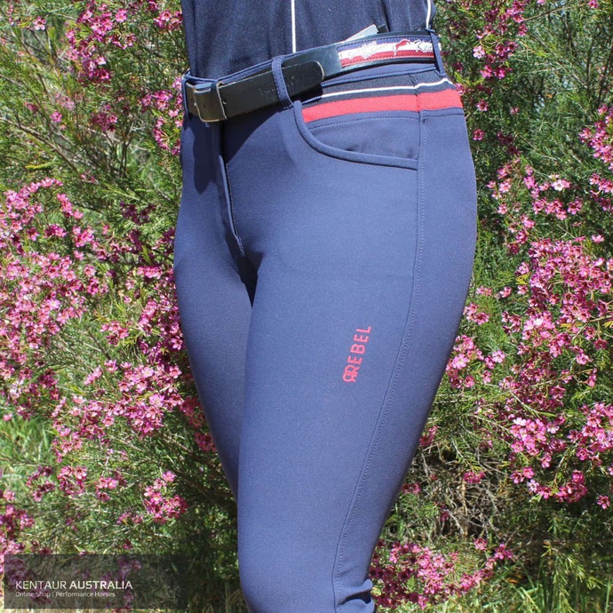 Montar Jamie Womens Casual Breeches Navy / 38 (AU10) Casual Breeches