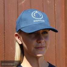 Load image into Gallery viewer, Montar Logo Cap Navy Rider Accessories
