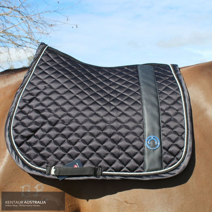 Montar 'Modena' Jumping Saddle Pad Black / Full Saddle Pad