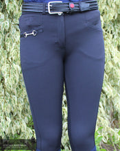 Load image into Gallery viewer, Montar Molly High Waist Womens Casual Breeches Black / AU 8 Casual Breeches