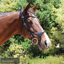 Load image into Gallery viewer, Montar Monarch Bridle Black / Cob Bridles