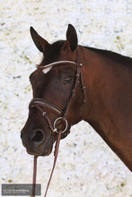 Load image into Gallery viewer, Montar Normandie Bridle Brown / Cob Bridles