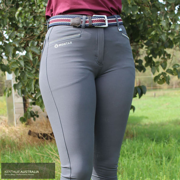 Montar Skyler Womens Casual Breeches Grey / AU 8 Casual Breeches