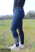 Load image into Gallery viewer, Montar 'Skyler' Womens Casual Breeches Navy / AU 10 Casual Breeches