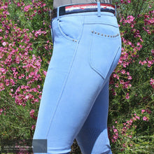 Load image into Gallery viewer, Montar Valeria Womens Denim Breeches Denim / 38 (AU10) / Full Grip Casual Breeches