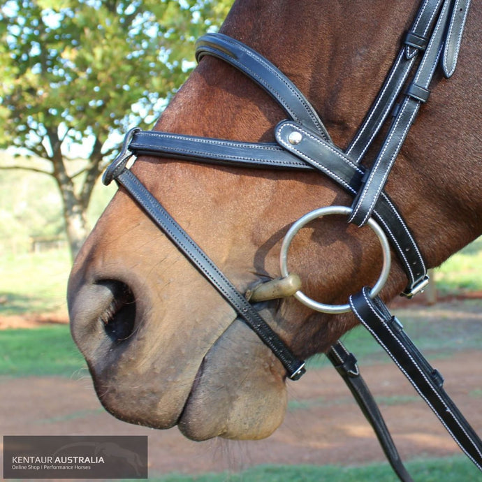 Silver Crown 'Brazilian' Noseband Bridles
