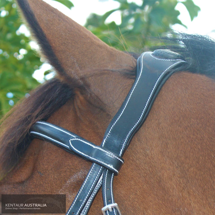 Silver Crown Doha Headpiece Bridles