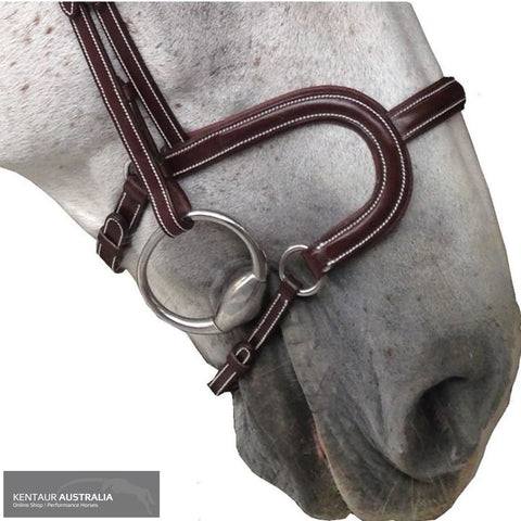 Silver Crown H Classic Noseband Bridles