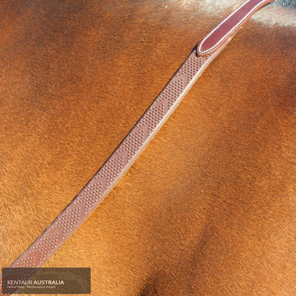 Silver Crown V-Grip Reins Bridles