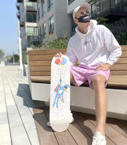SOLD 'Get Higher' Skateboard (1 of 1)