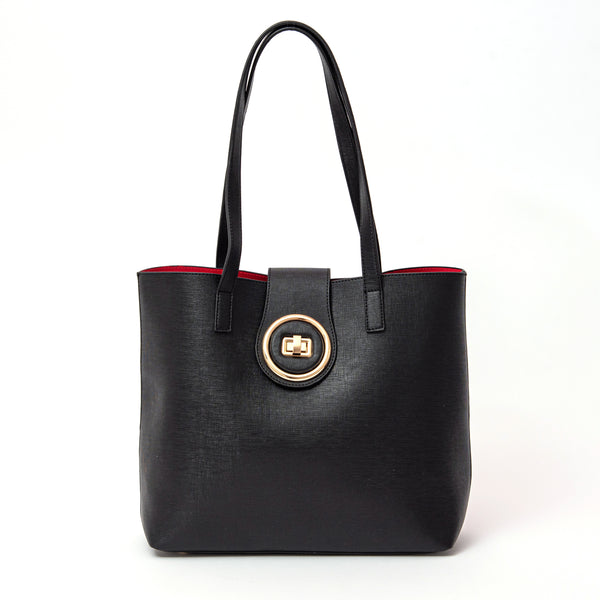 Okella's Fabulous Work Tote For Women (Black)