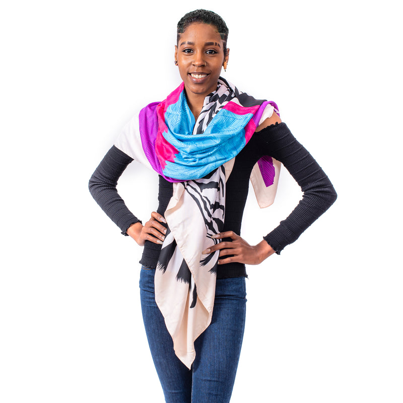 Okella's Safari Statement Scarf
