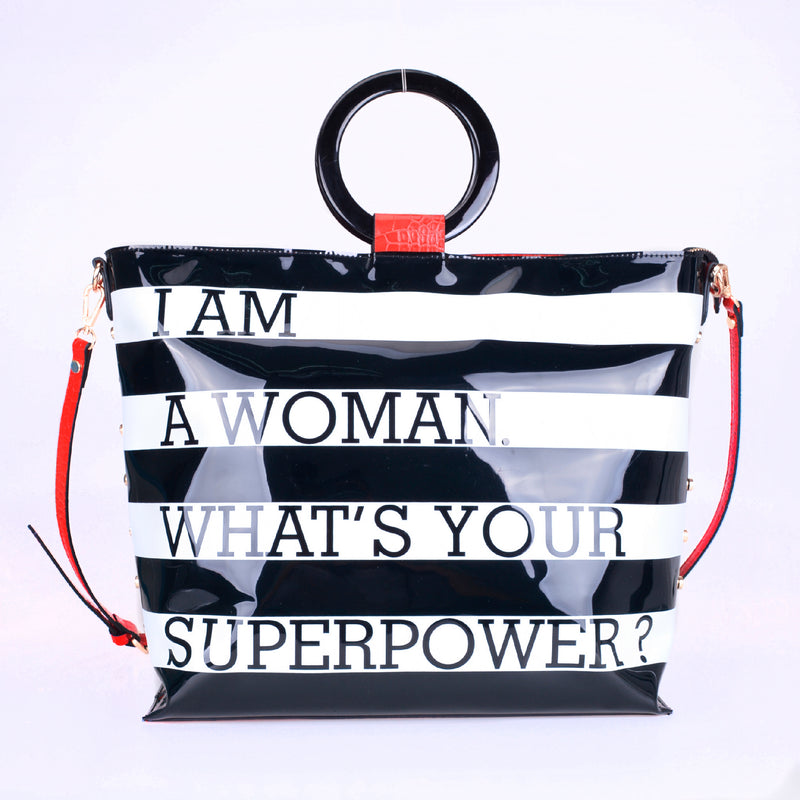 "Okella's ""Superwoman"" Tote Bag"