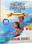 Coloring Book: Poseidon's Storm Blaster (The Legend of Pineapple Cove #1) - Code Pineapple