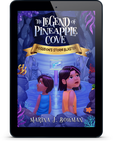 Poseidon's Storm Blaster (The Legend of Pineapple Cove #1) - EBOOK