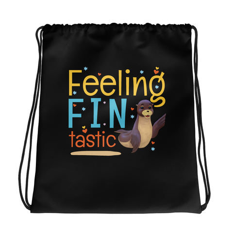 Feeling Fintastic Drawstring bag - Code Pineapple