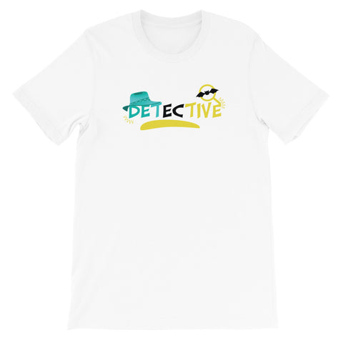 Detective Multi-Color Short-Sleeve Unisex T-Shirt - Code Pineapple