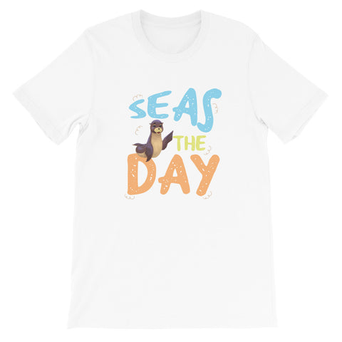 Seas The Day3 Short-Sleeve Unisex T-Shirt - Code Pineapple