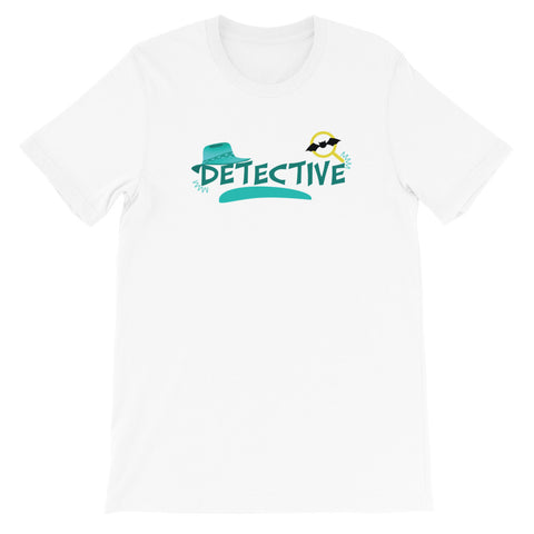 Detective Short-Sleeve Unisex T-Shirt - Code Pineapple