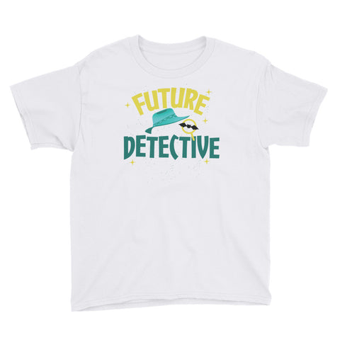 Future Detective Youth Short Sleeve T-Shirt - Code Pineapple