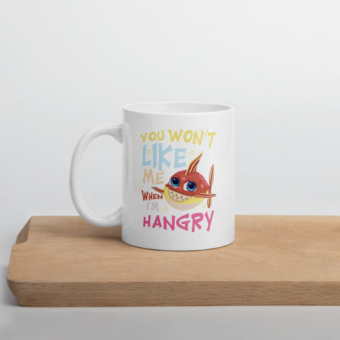 You Won't Like Me When I'm Hangry Mug - Code Pineapple