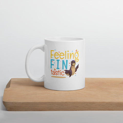 Feeling Fintastic Mug - Code Pineapple
