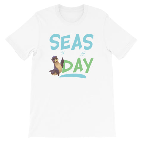 Seas the Day2 Short-Sleeve Unisex T-Shirt - Code Pineapple