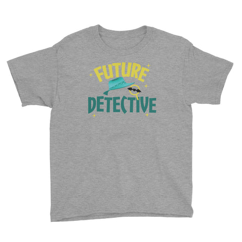 Future Detective T-Shirt Youth Short Sleeve