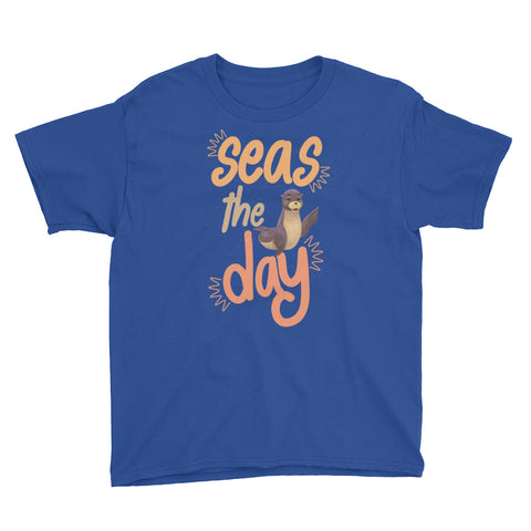 Seas the day T-Shirt Youth Short Sleeve