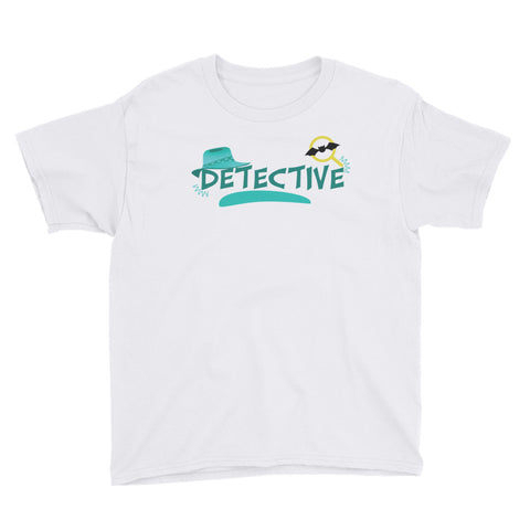 Detective Youth Short Sleeve T-Shirt - Code Pineapple