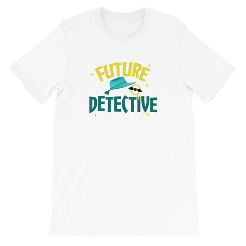 Future Detective Short-Sleeve Unisex T-Shirt - Code Pineapple