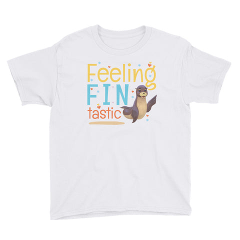 Feeling Fintastic Youth Short Sleeve T-Shirt - Code Pineapple