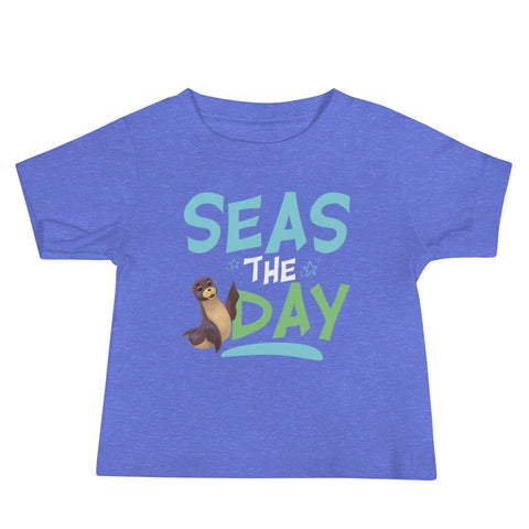 Seas the Day2 Baby Jersey Short Sleeve Tee
